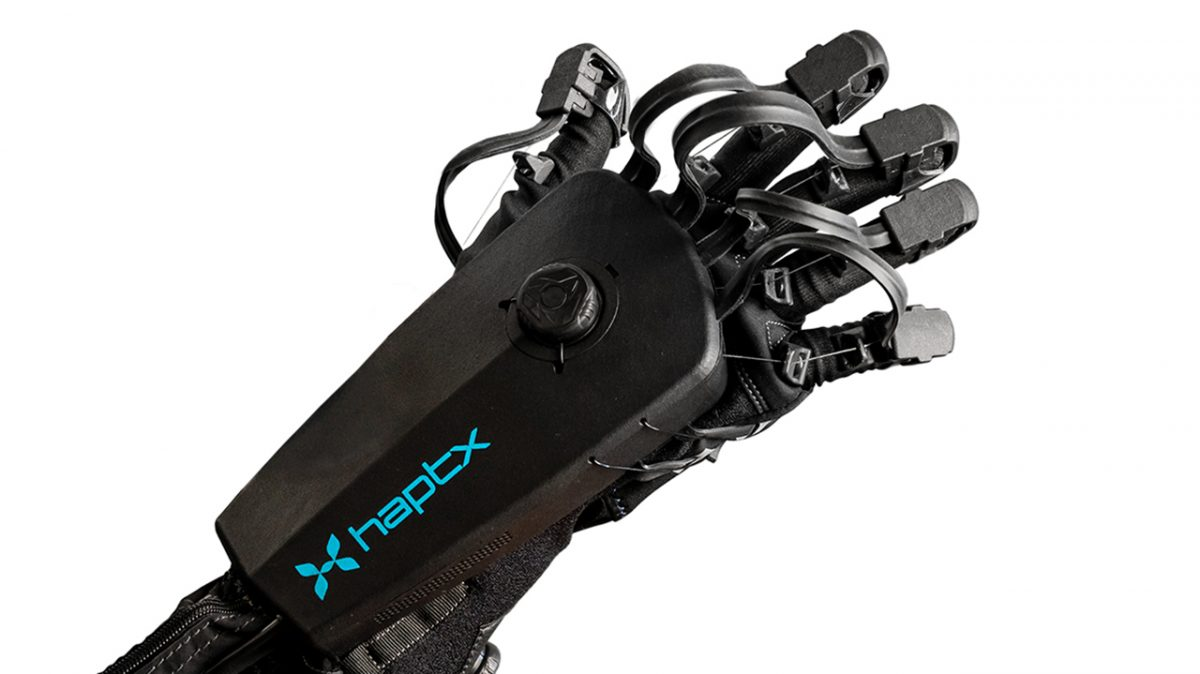 HaptX Unveils New Force Feedback Gloves